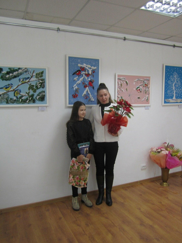Юна Богдана Ільєва презентувала виставку гобеленів, фото-12