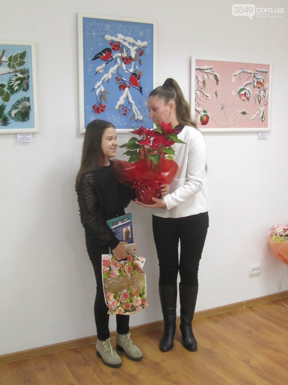 Юна Богдана Ільєва презентувала виставку гобеленів, фото-14