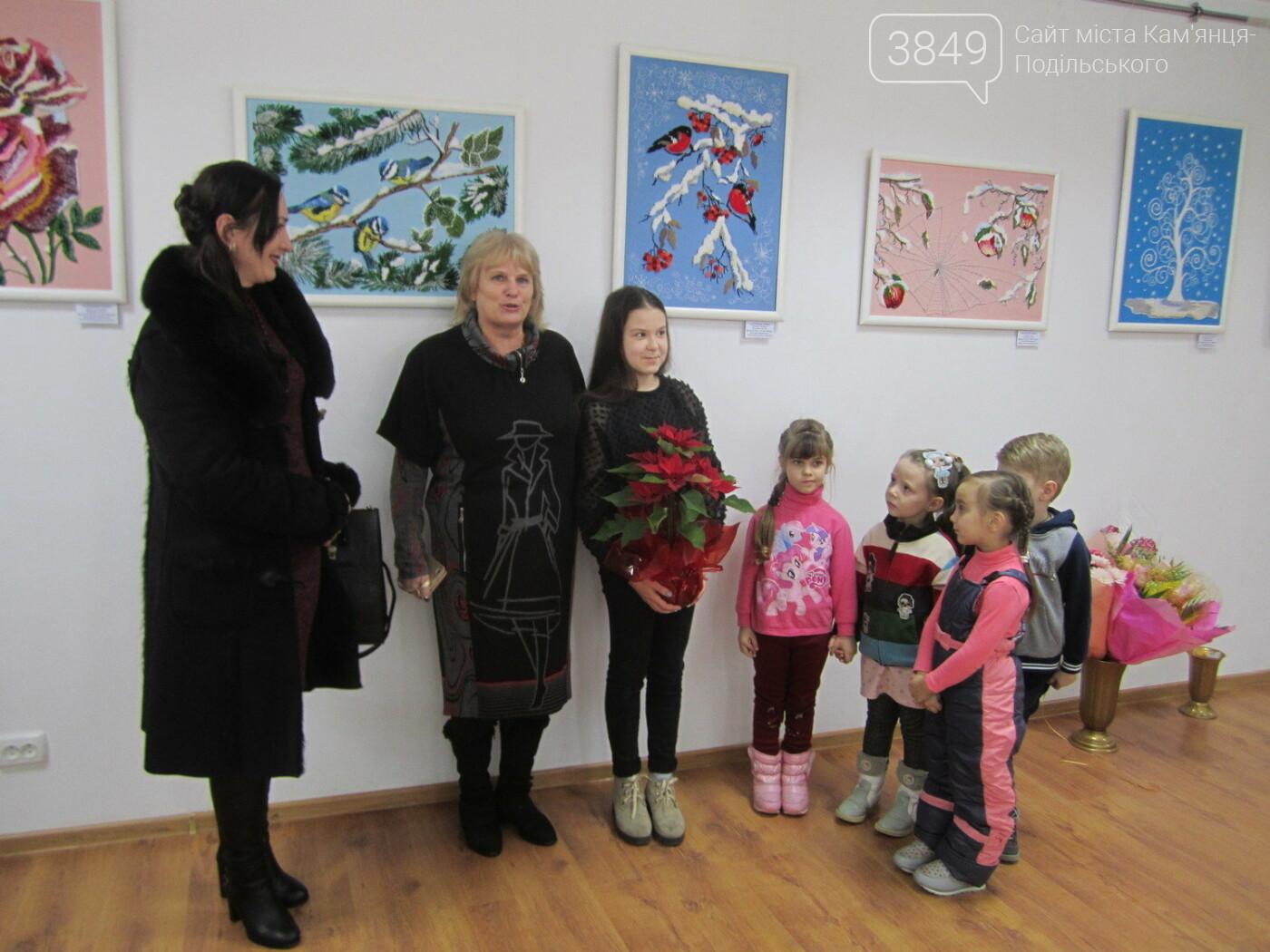 Юна Богдана Ільєва презентувала виставку гобеленів, фото-32