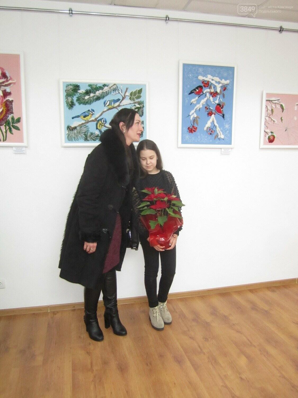 Юна Богдана Ільєва презентувала виставку гобеленів, фото-13