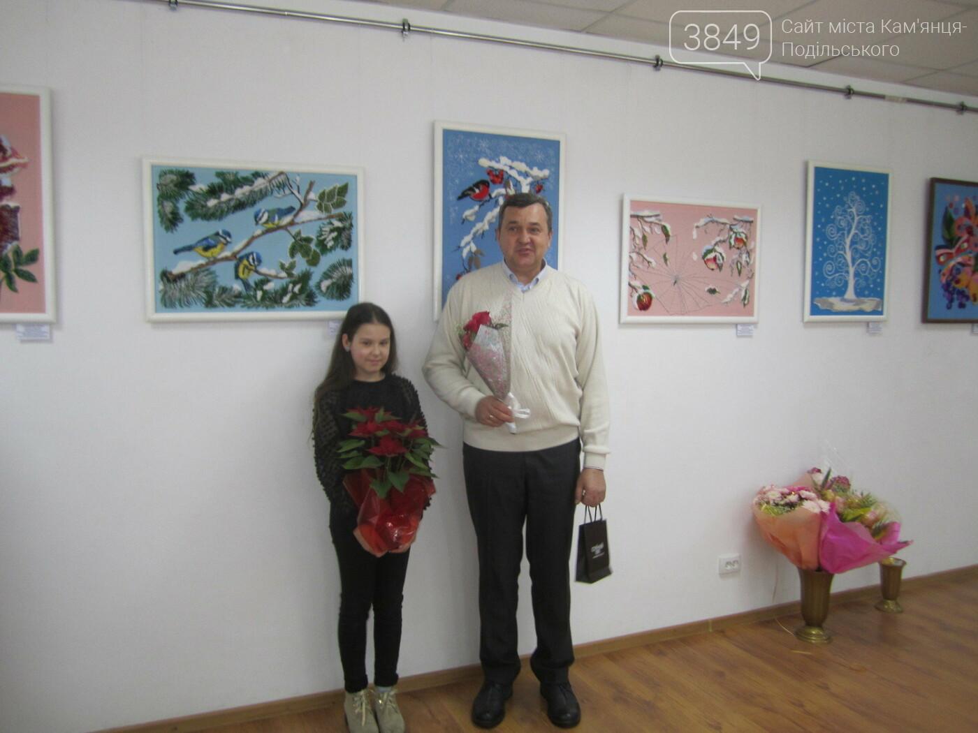 Юна Богдана Ільєва презентувала виставку гобеленів, фото-15