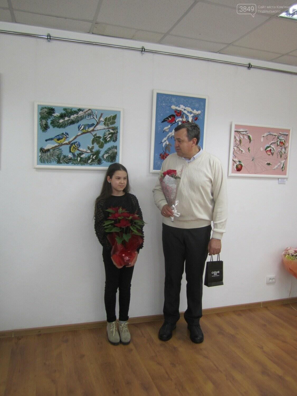 Юна Богдана Ільєва презентувала виставку гобеленів, фото-16