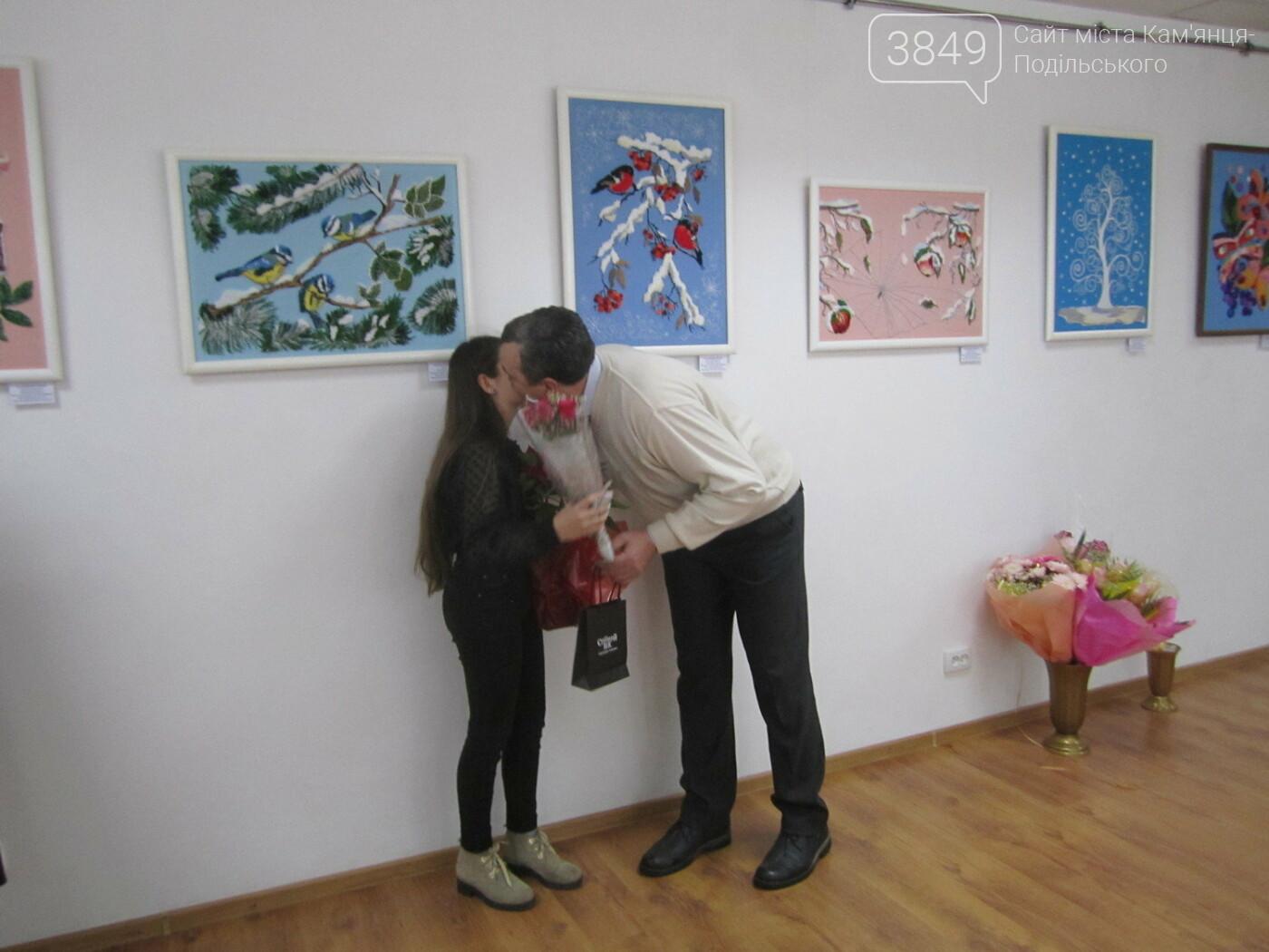 Юна Богдана Ільєва презентувала виставку гобеленів, фото-22