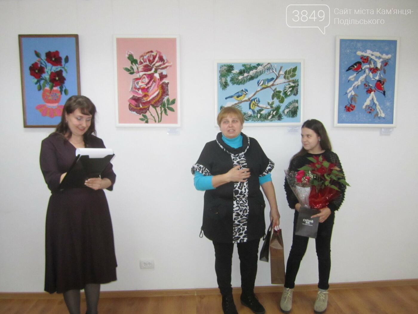 Юна Богдана Ільєва презентувала виставку гобеленів, фото-17