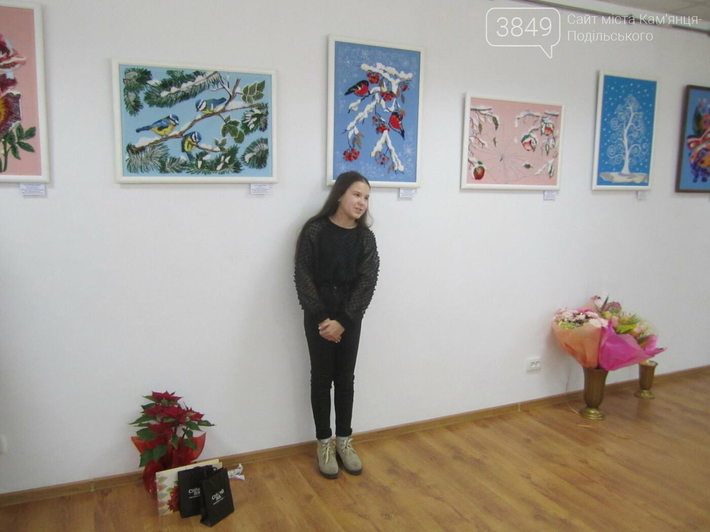 Юна Богдана Ільєва презентувала виставку гобеленів, фото-18