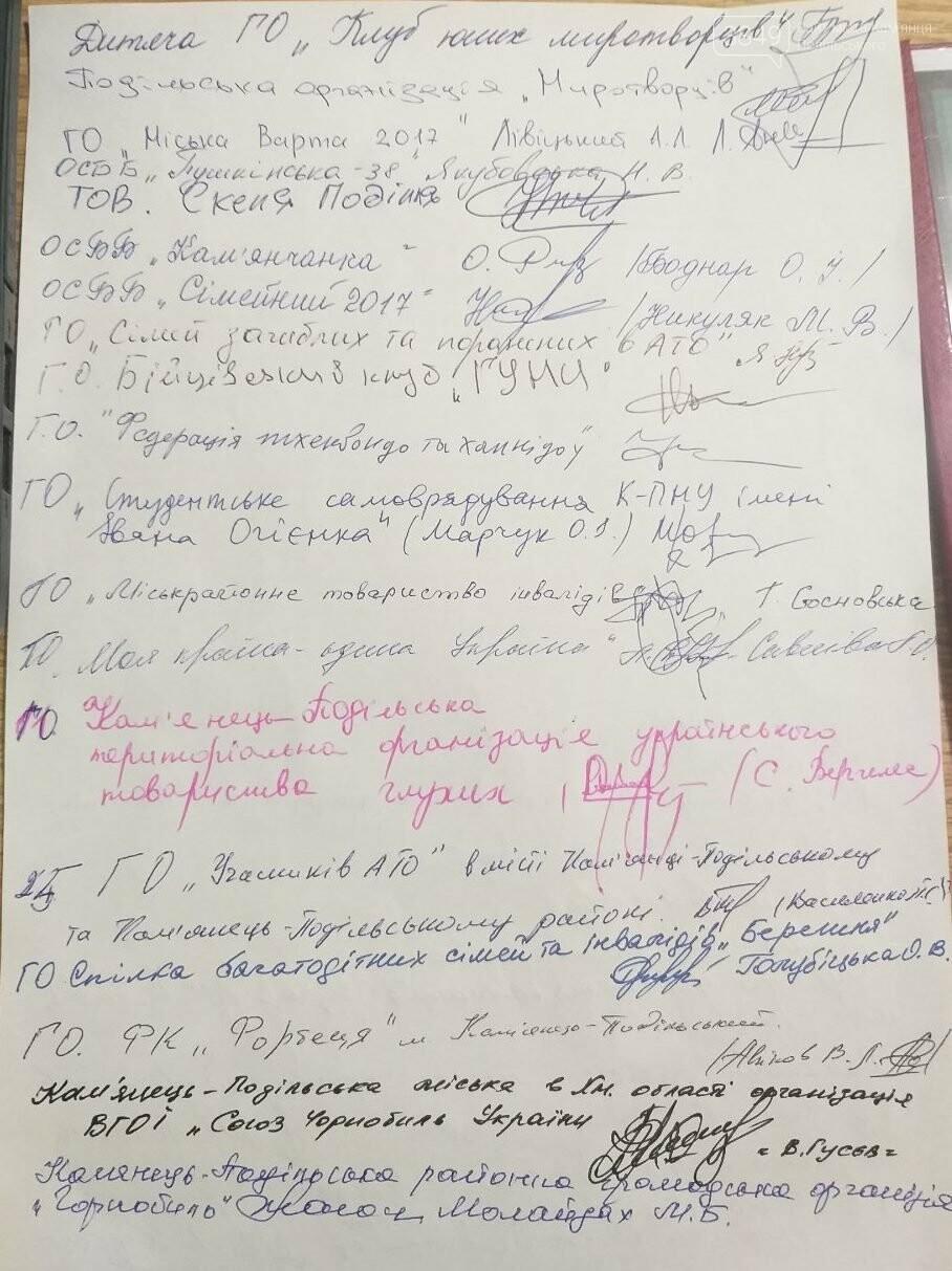 Громадськість Кам'янеччини звернулась до Володимира Мельниченка , фото-2