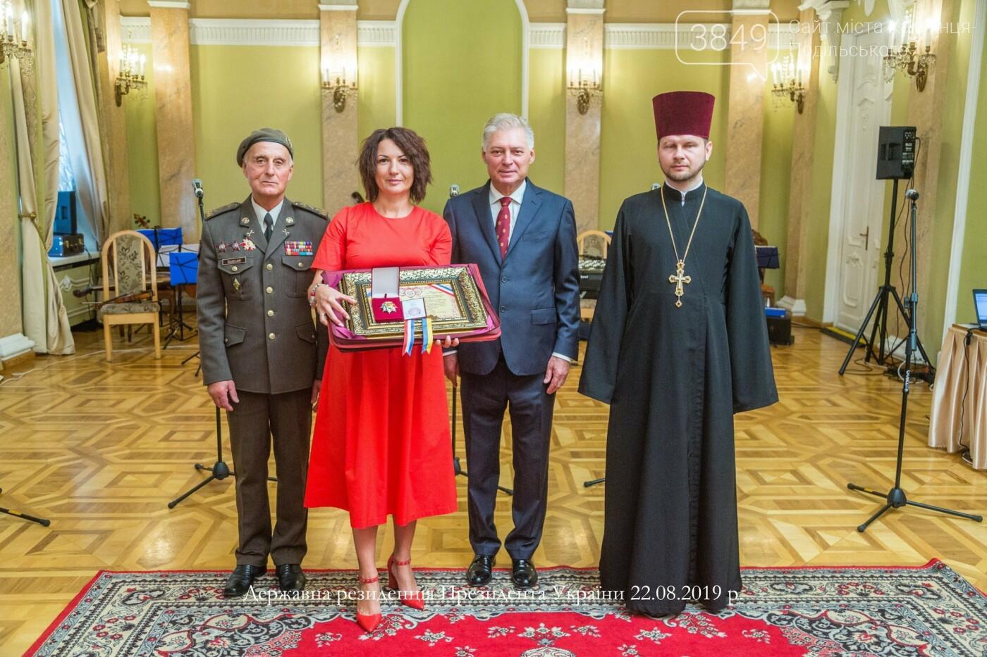 Лікар із Кам'янця-Подільського отримала найвищий міжнародний суспільний орден України, фото-4