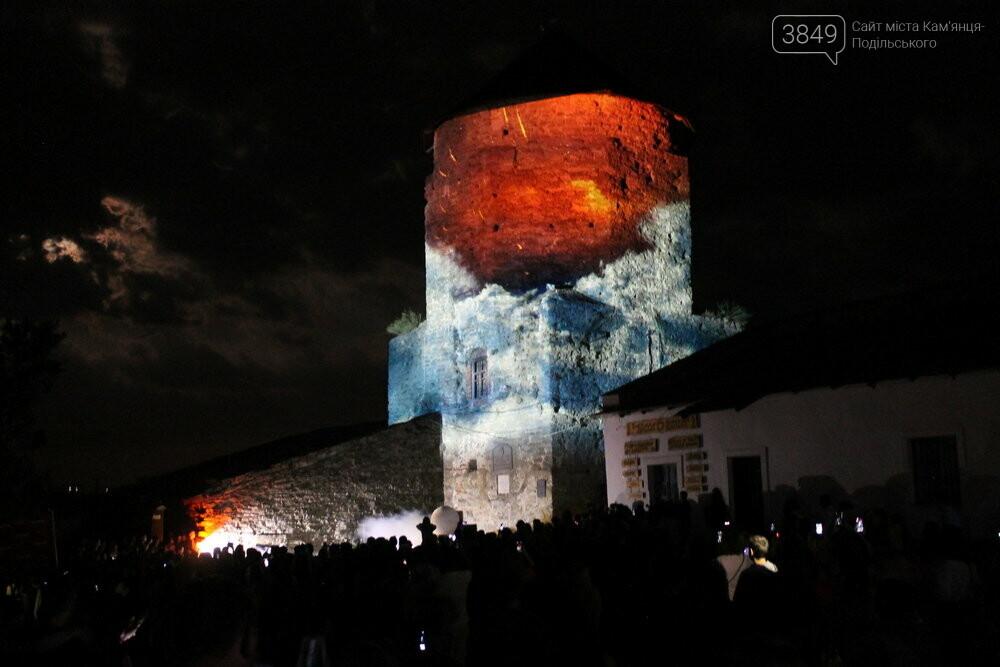 У Кам'янці-Подільському презентували грандіозне світлове 3D-шоу, фото-6