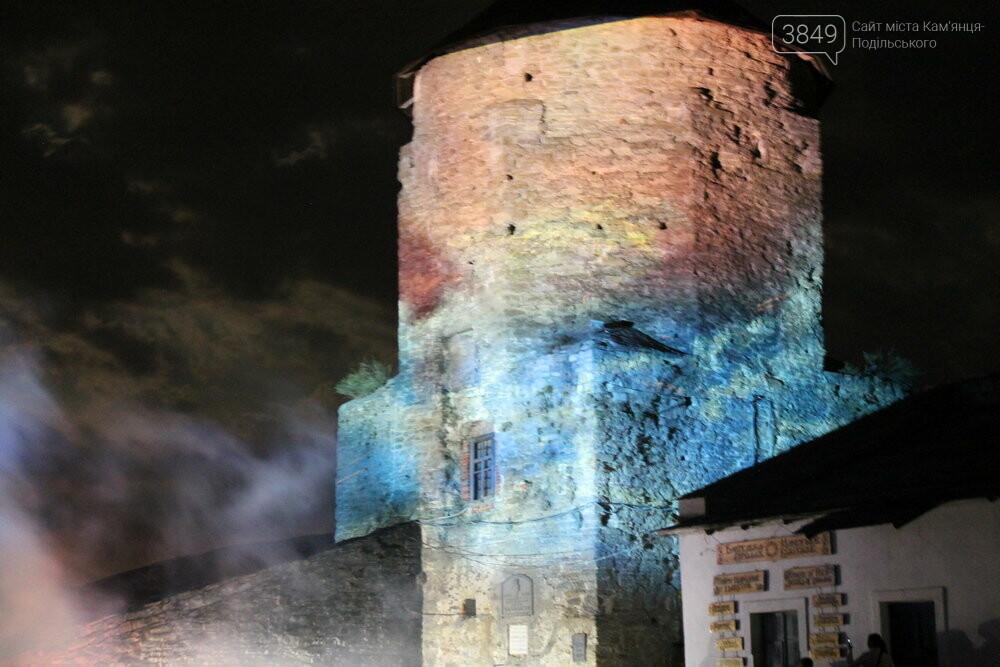 У Кам'янці-Подільському презентували грандіозне світлове 3D-шоу, фото-7