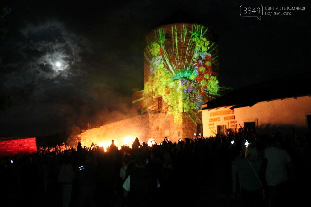 У Кам'янці-Подільському презентували грандіозне світлове 3D-шоу, фото-11