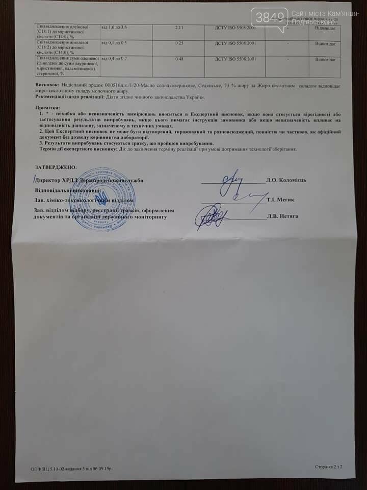 Наскільки якісне масло в дитячих садках Кам'янця-Подільського: результати скандальні, фото-9