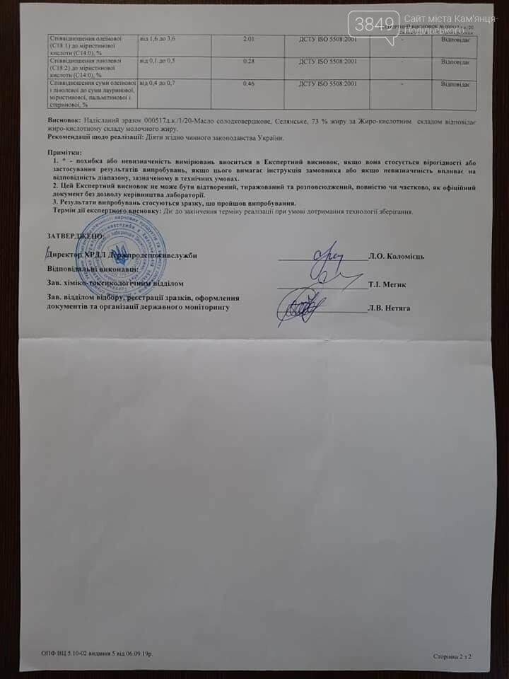 Наскільки якісне масло в дитячих садках Кам'янця-Подільського: результати скандальні, фото-11