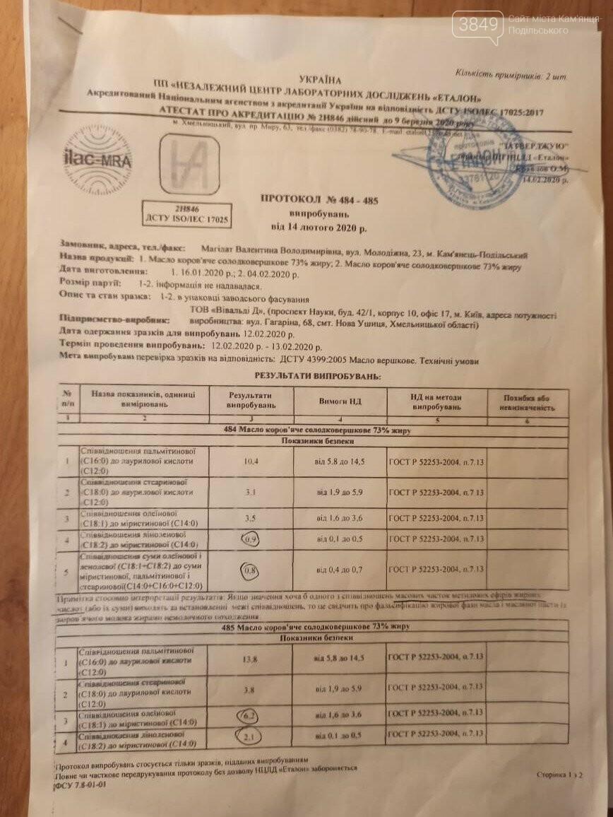 Наскільки якісне масло в дитячих садках Кам'янця-Подільського: результати скандальні, фото-15