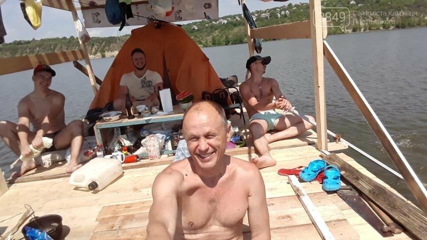 Круїзний лайнер по-кам'янецьки, фото-1, Фото: Сергій Сергієнко