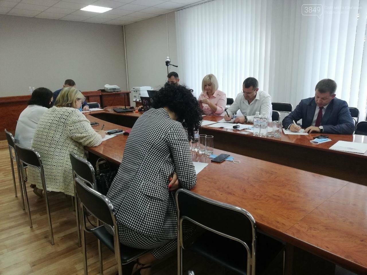Перші вибори директора школи у Кам'янці-Подільському, фото-1