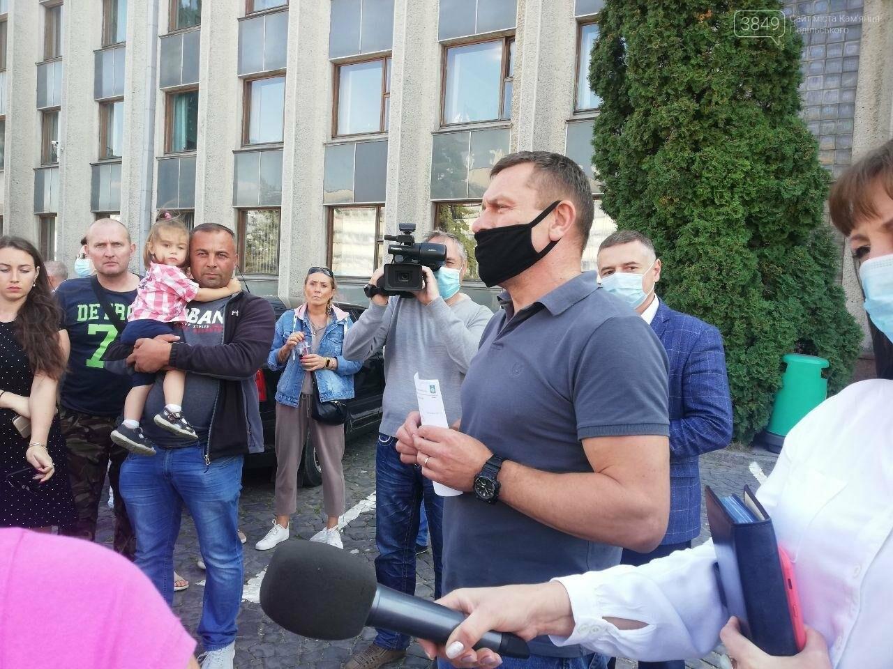 У Кам'янці-Подільському мітингують проти директора школи №15, фото-3