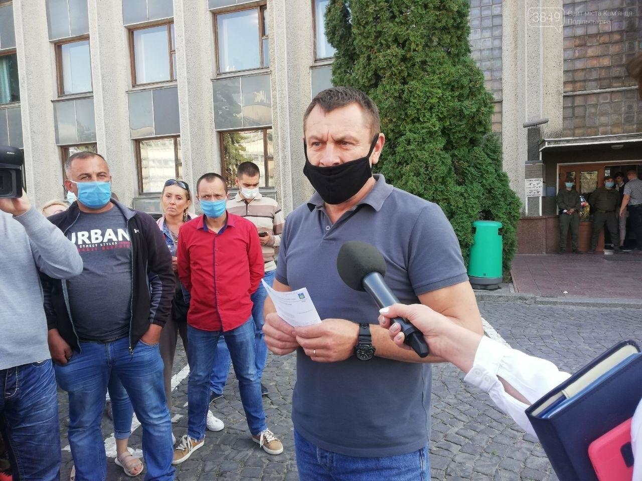 У Кам'янці-Подільському мітингують проти директора школи №15, фото-4