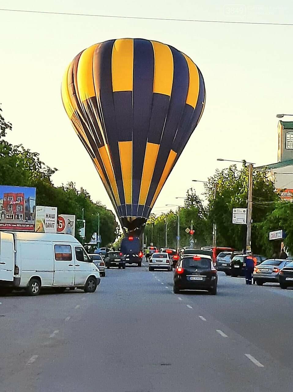 21 травня повітряна куля сіла на проспекті Грушевського, Фото: Ігор Ткачук (Игорь Ткачук)