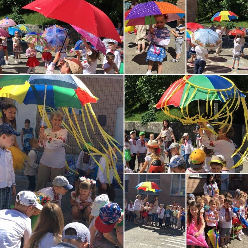 Свято парасольки в ДНЗ № 5, фото-1