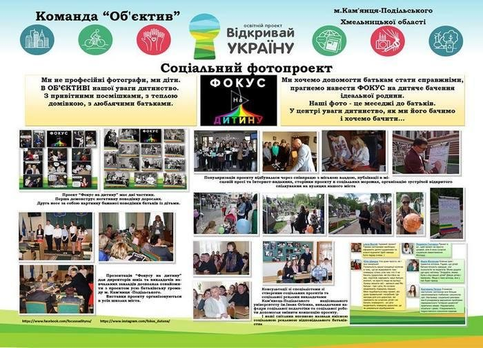 """Команда """"Об'єктив"""" - переможець півфіналу проекту """"Відкривай Україну"""" у Хмельницькій області, фото-4"""