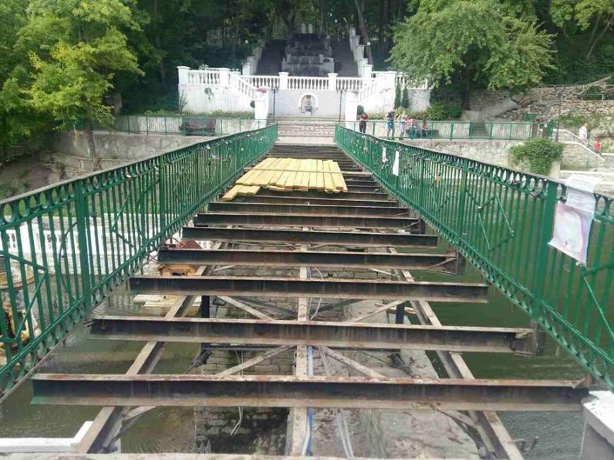 Розібрали міст на Лебедях, фото-1