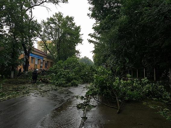 На території Хмельницької області знеструмлені 35 населених пунктів, фото-1