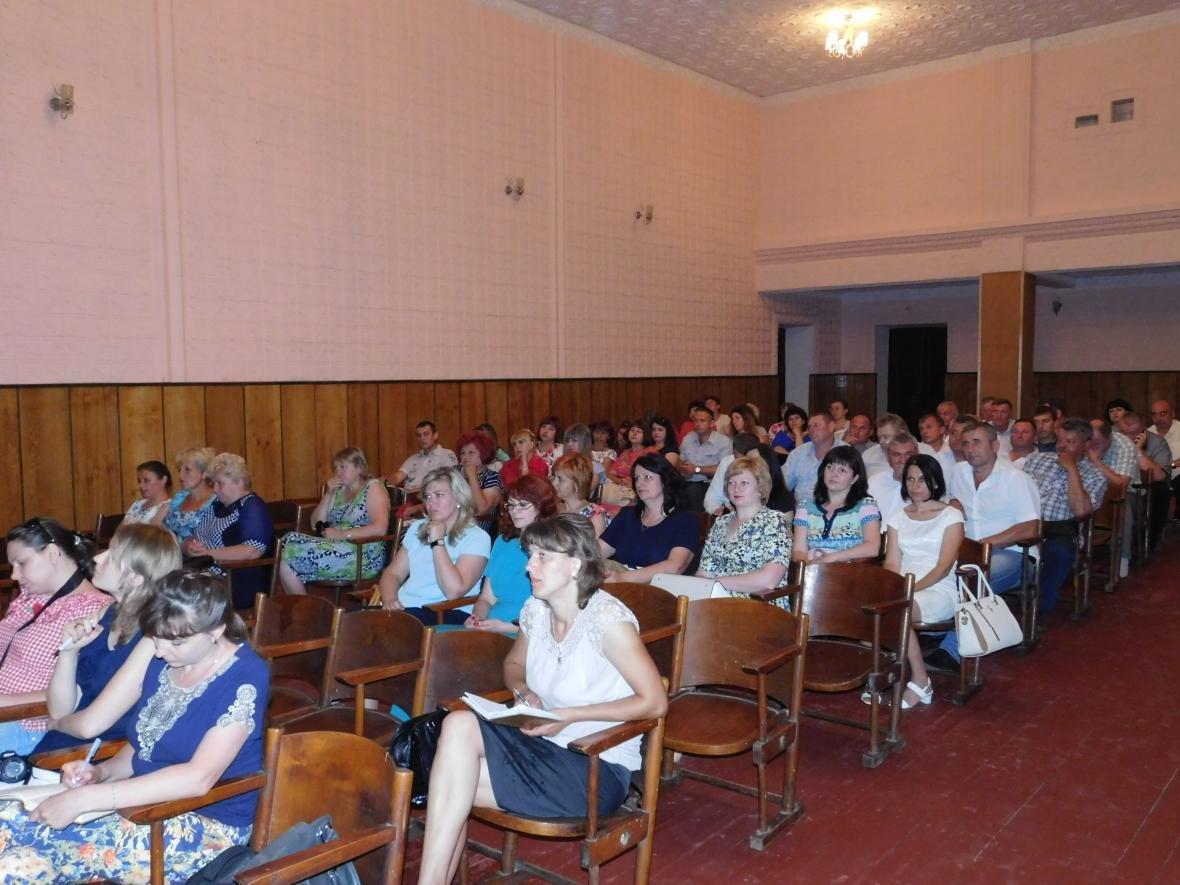 Відбулося засідання колегії районної державної адміністрації у с. Руда, фото-3