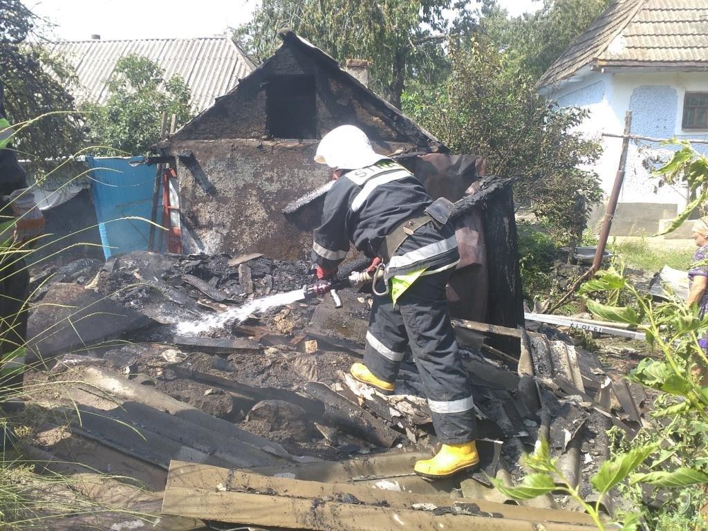 У селі Нагоряни сталась пожежа, фото-1