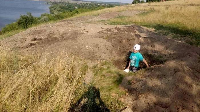 """На території заповідника """"Подільські товтри"""" орудували чорні археологи, фото-2"""