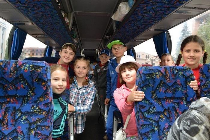 45 дітей учасників АТО сьогодні поїхали у польський табір, фото-1