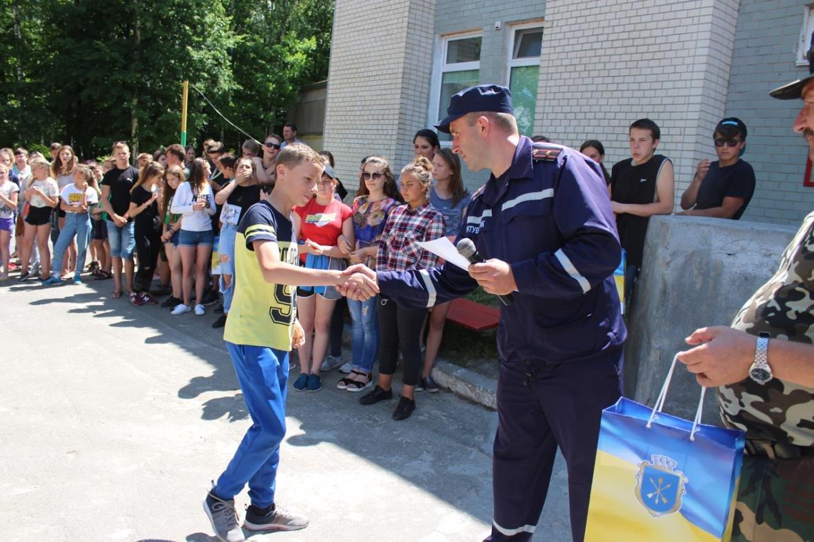 """Силовики та рятувальники завітали у дитячо-юнацький оздоровчий комплекс """"Чайка"""", фото-12"""
