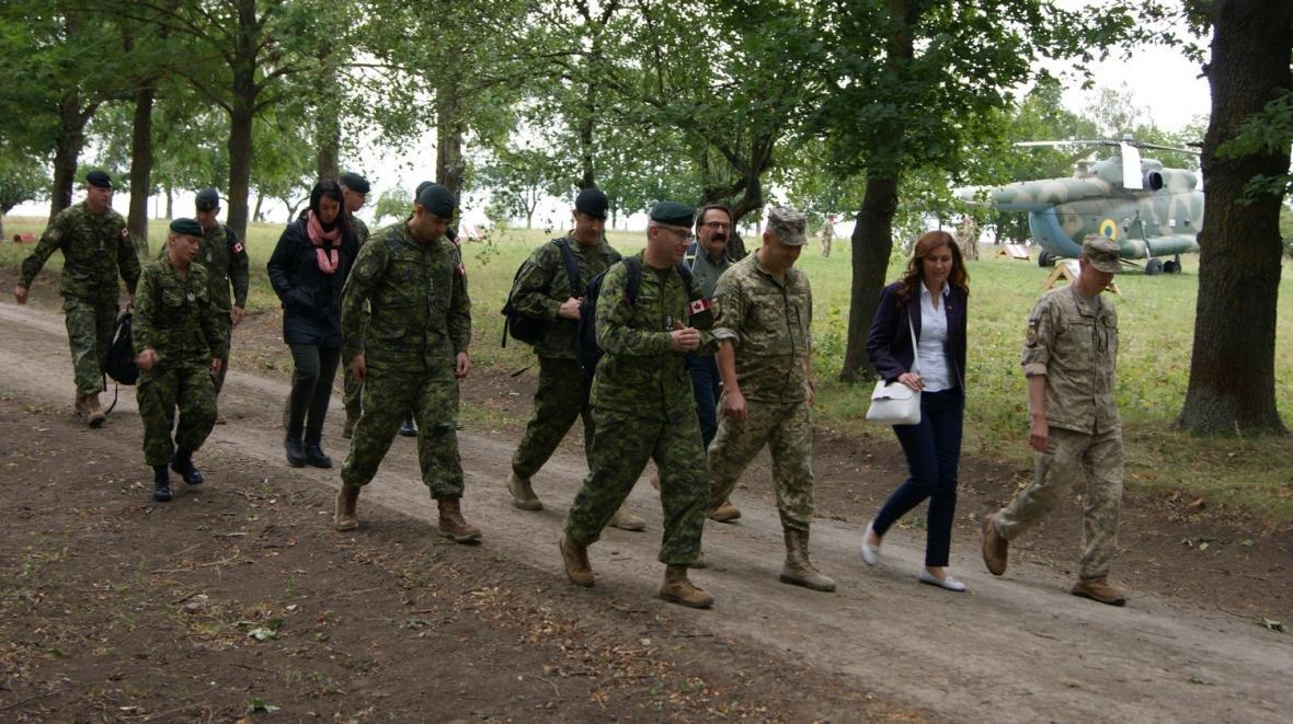 Візит командувача Сухопутних військ ЗС Канади, фото-1