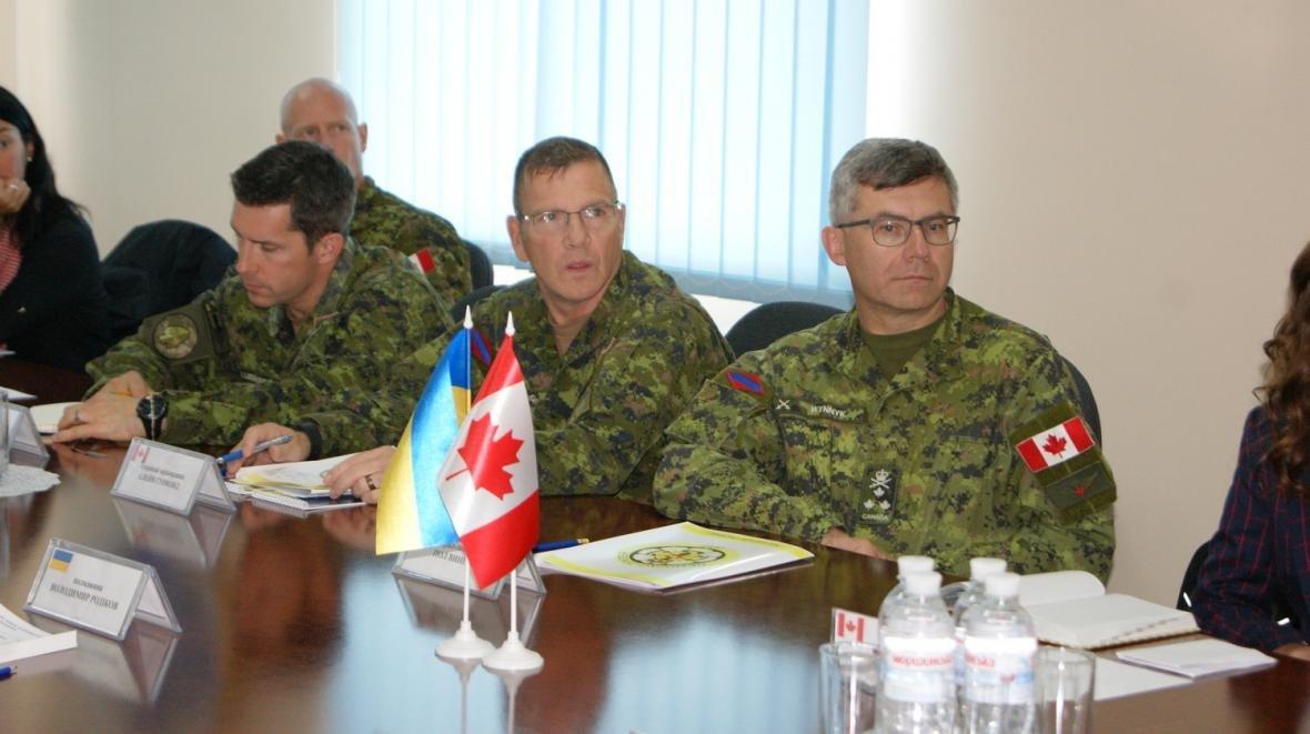 Візит командувача Сухопутних військ ЗС Канади, фото-2