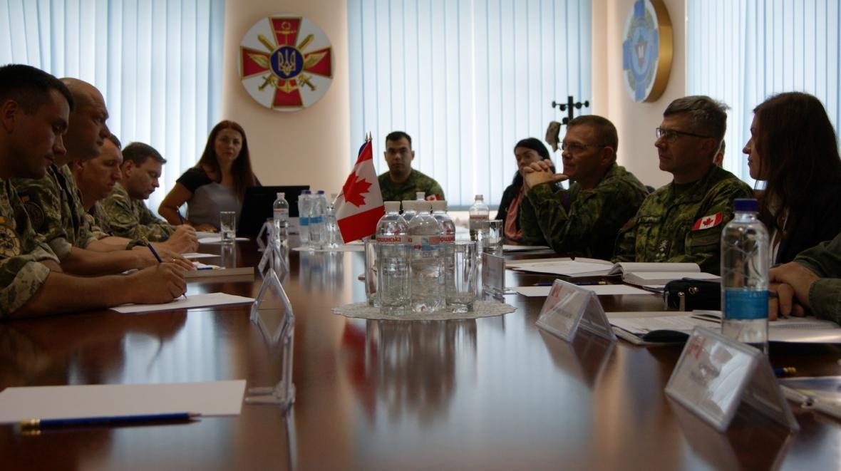 Візит командувача Сухопутних військ ЗС Канади, фото-3
