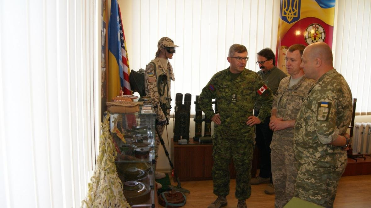 Візит командувача Сухопутних військ ЗС Канади, фото-4