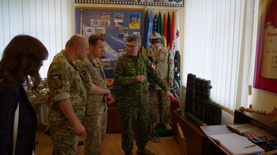 Візит командувача Сухопутних військ ЗС Канади, фото-5