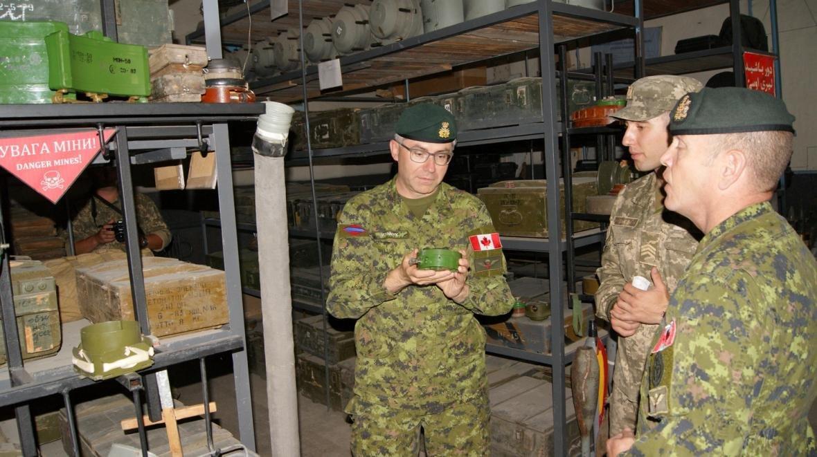 Візит командувача Сухопутних військ ЗС Канади, фото-13