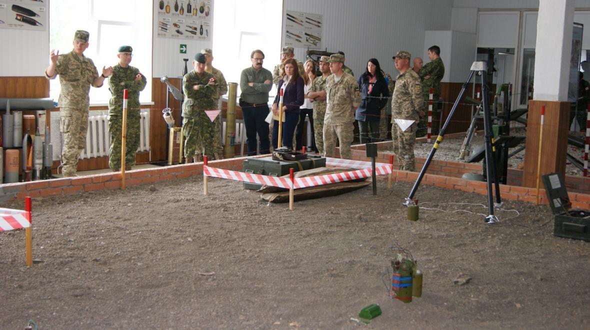 Візит командувача Сухопутних військ ЗС Канади, фото-14