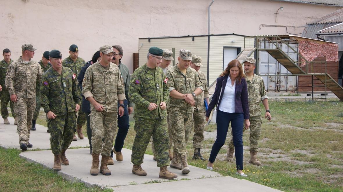 Візит командувача Сухопутних військ ЗС Канади, фото-16