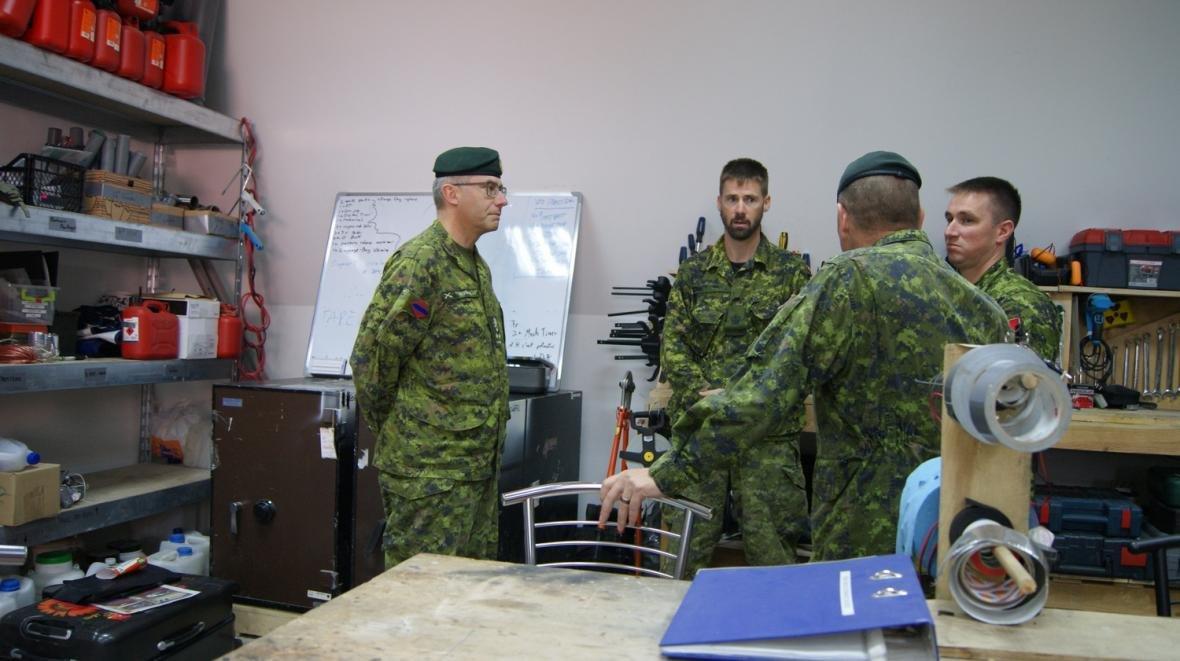 Візит командувача Сухопутних військ ЗС Канади, фото-6