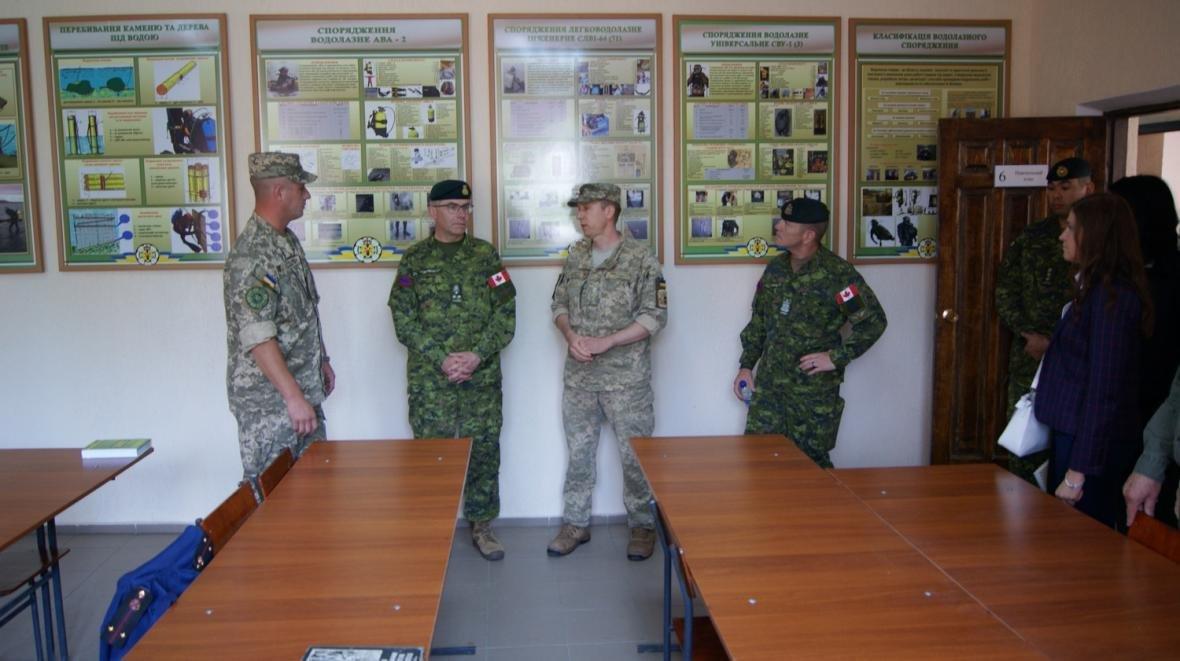 Візит командувача Сухопутних військ ЗС Канади, фото-7