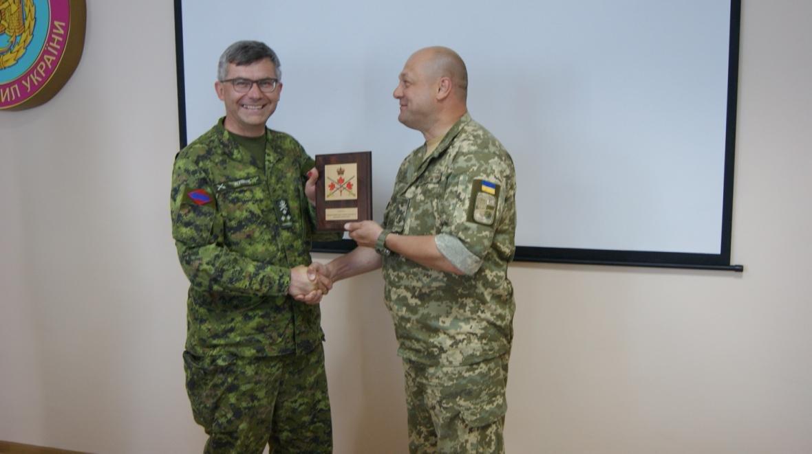 Візит командувача Сухопутних військ ЗС Канади, фото-8