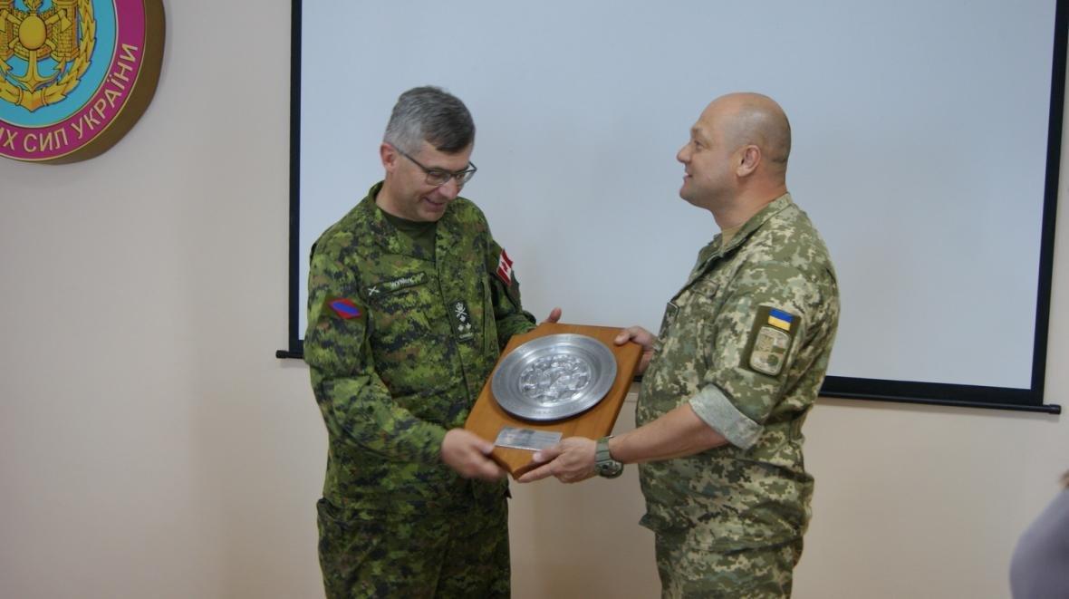Візит командувача Сухопутних військ ЗС Канади, фото-9