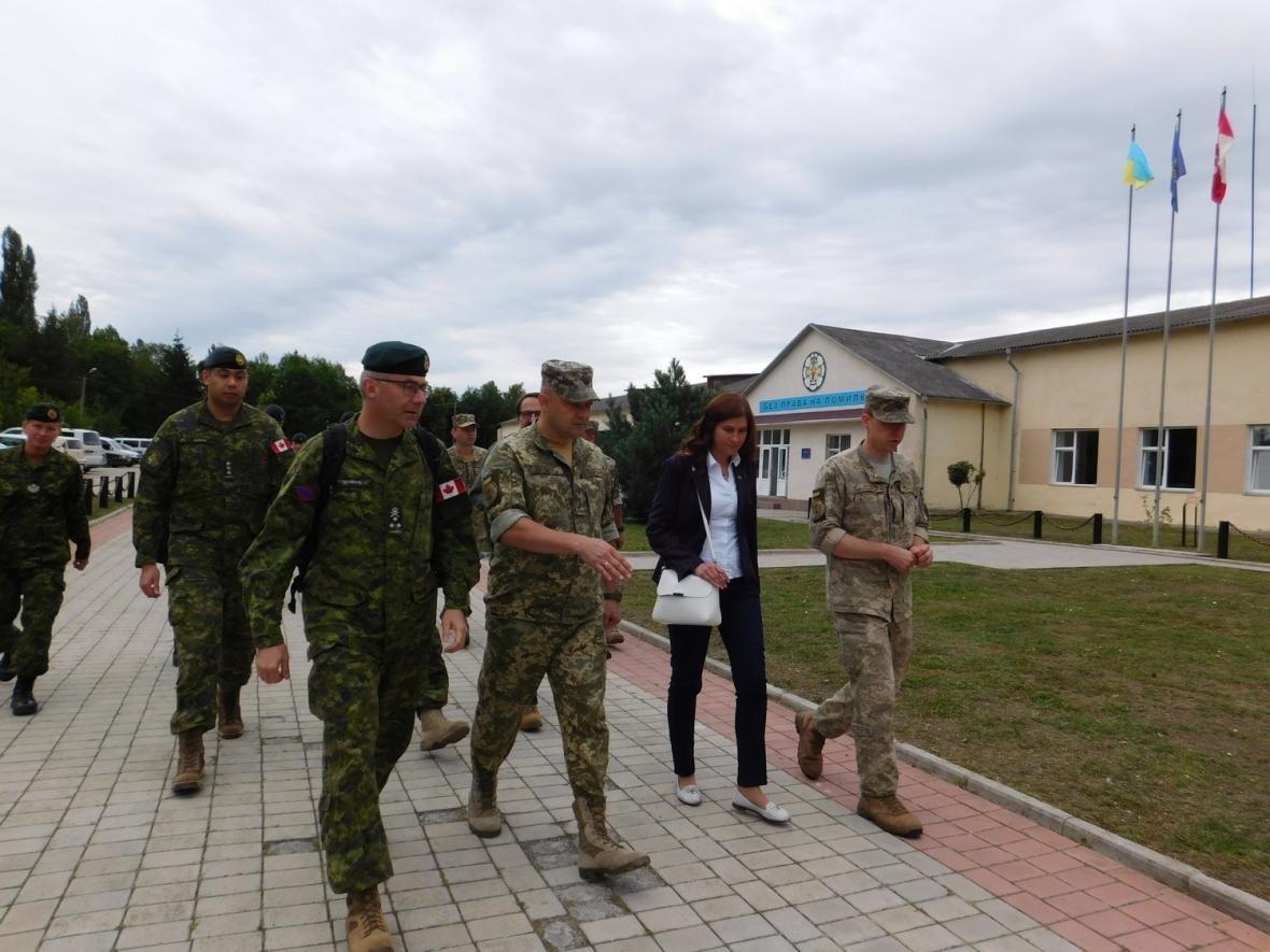 Візит командувача Сухопутних військ ЗС Канади, фото-17