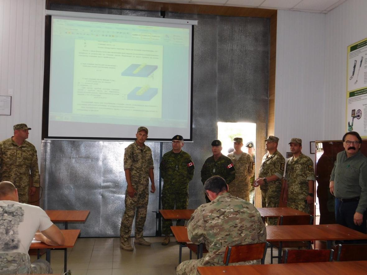 Візит командувача Сухопутних військ ЗС Канади, фото-18