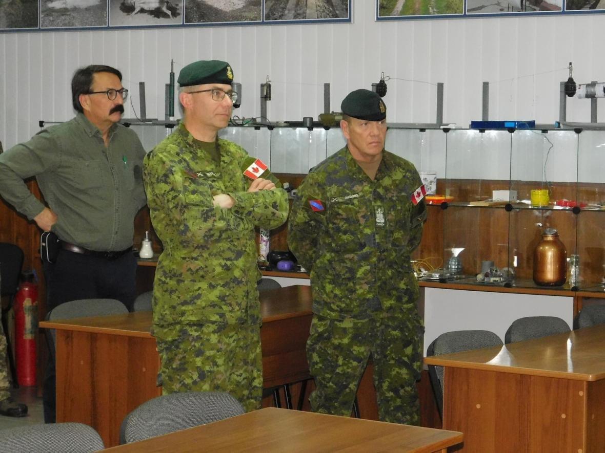 Візит командувача Сухопутних військ ЗС Канади, фото-10