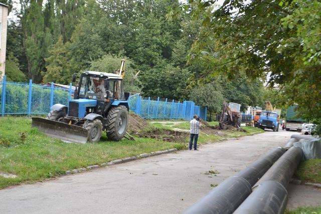 На вулиці Тімірязєва продовжують реконструювати тепломережі, фото-1