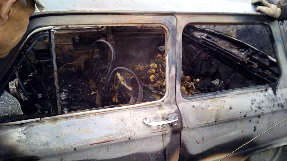 Служба порятунку ліквідувала пожежу автомобіля, фото-1