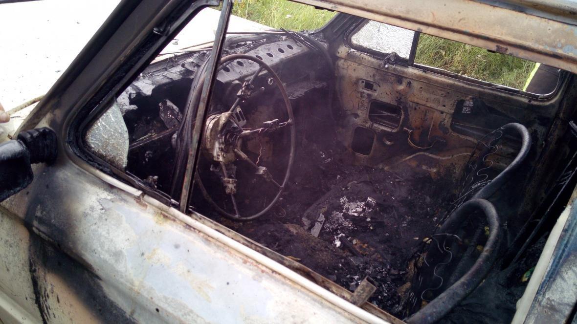 Служба порятунку ліквідувала пожежу автомобіля, фото-2