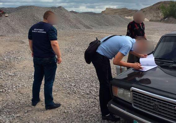 Поліція припинила незаконне видобування граніту на Хмельниччині, фото-2